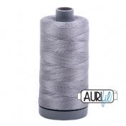 Aurifil 28 Cotton Thread - 2605 (Grey)